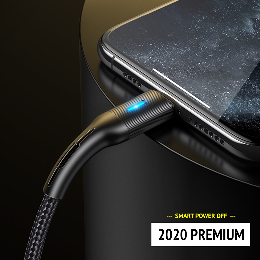 Smart Power off 2020 Premium - Black edition - 1.2 meter