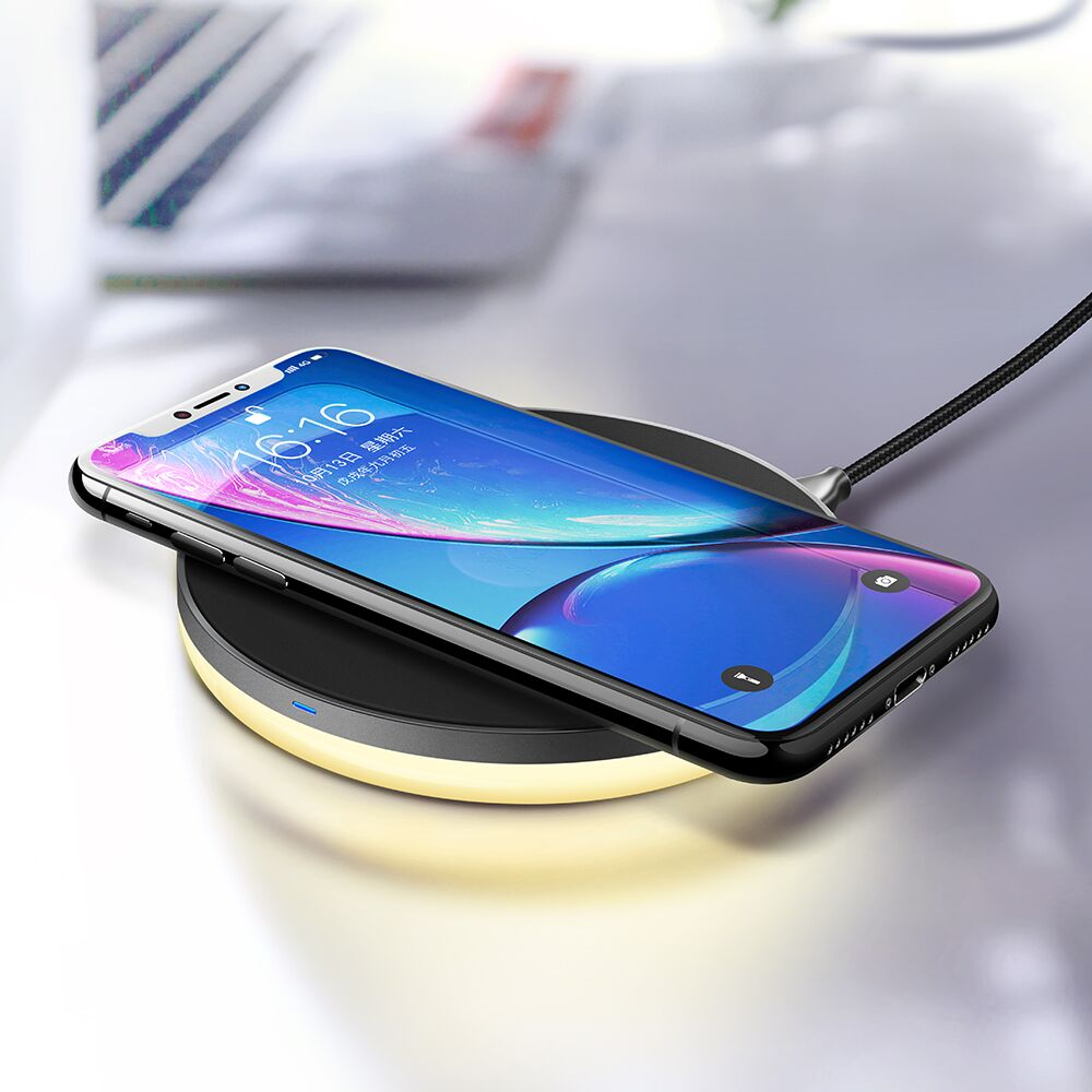 10W Fast Qi Standard Trådlös Laddare till iPhone X Snabb Trådlös Laddare Laddning för Samsung Galaxy S8 S7 S6 Edge Not 8